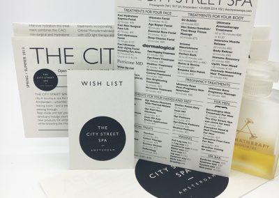 Branding The City Street Spa