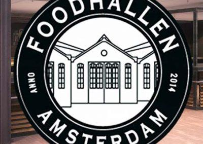 Branding Foodhallen Amsterdam