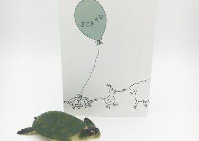 Geboortekaartje Scato