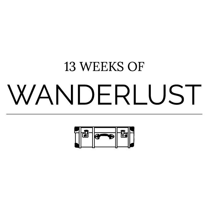 Logo 13 weeks of wanderlust